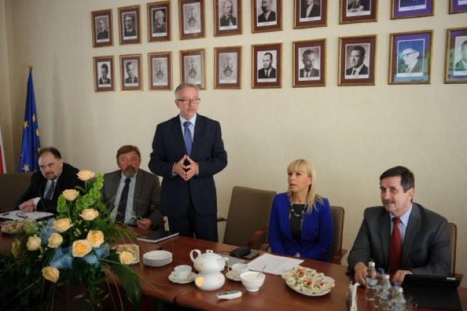 Minister Bieńkowska u prezydenta Tarnowa