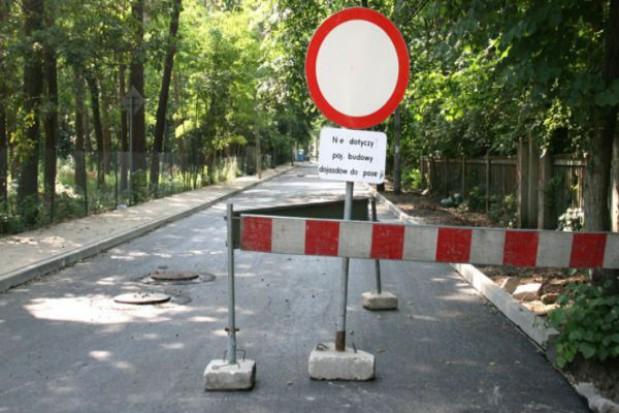 Wakacyjne remonty dróg w Konstancinie