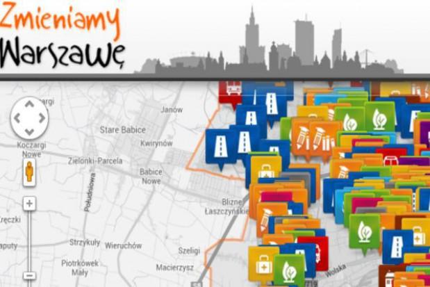 Już działa interaktywna mapa warszawskich inwestycji