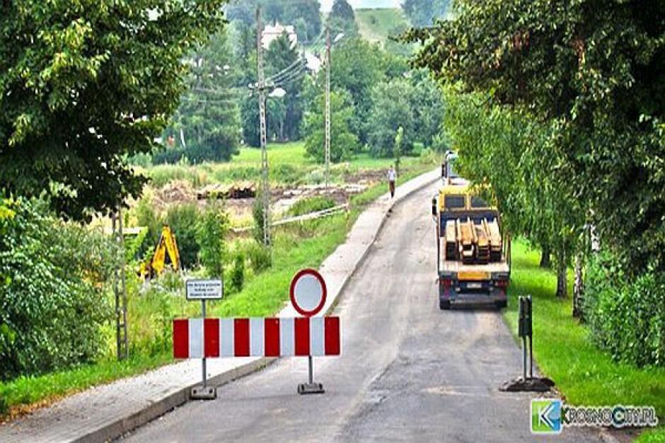 Most na Konopnickiej w Krośnie został zamknięty