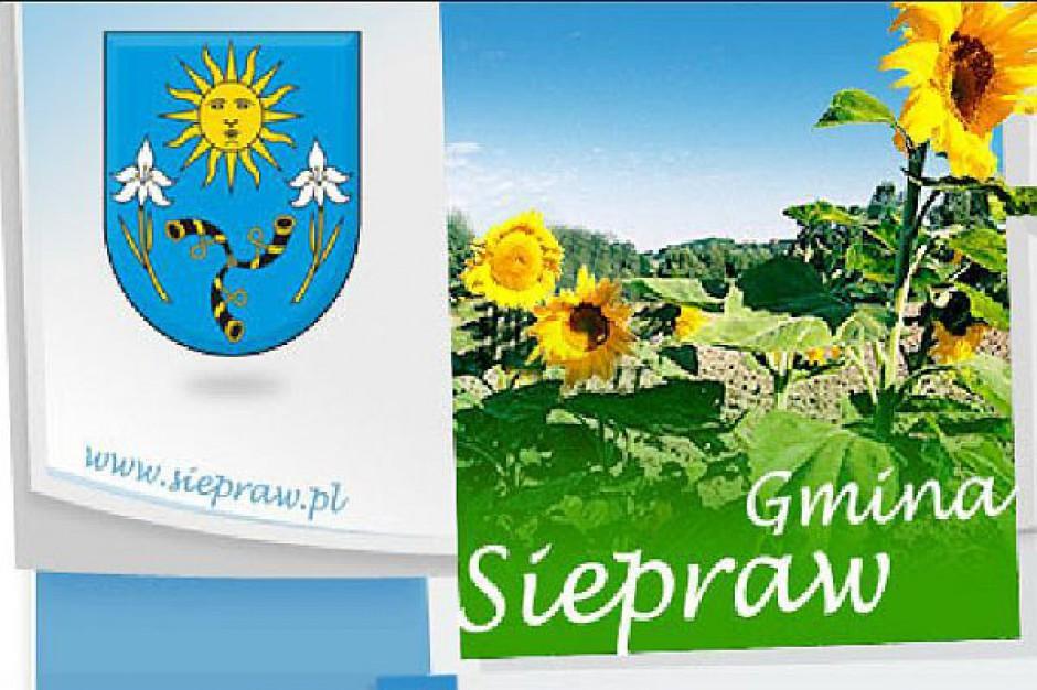 Nowe ulice w gminie Siepraw