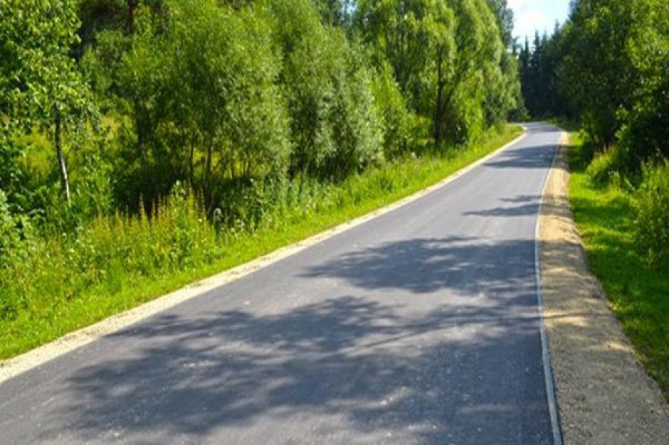 Wyremontowano drogę w gminie Dukla