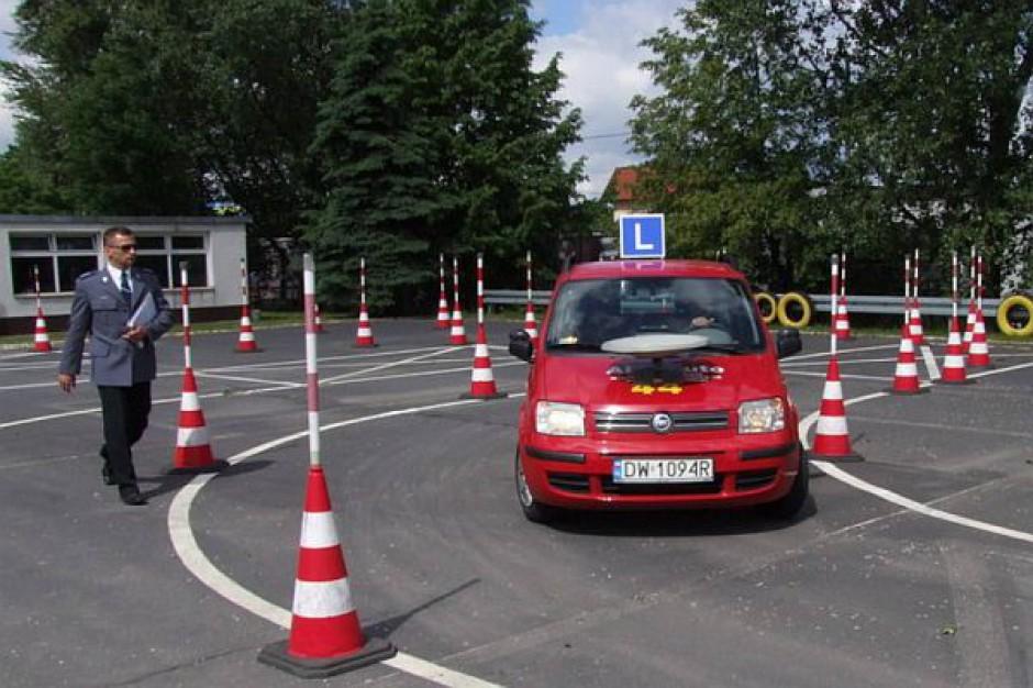Profil kierowcy w ślepej uliczce