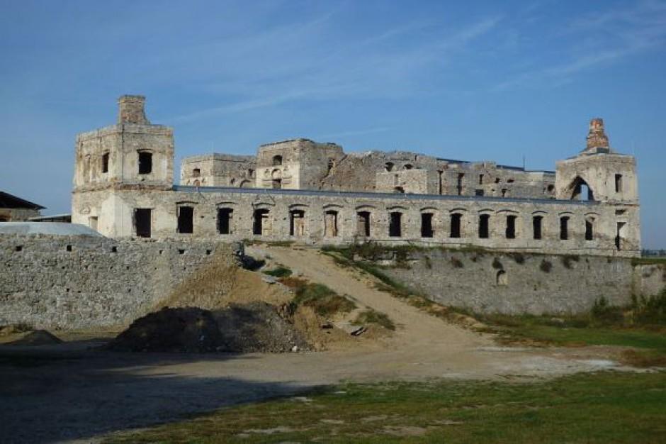 Renowacja zamku Krzyżtopór dobiega końca