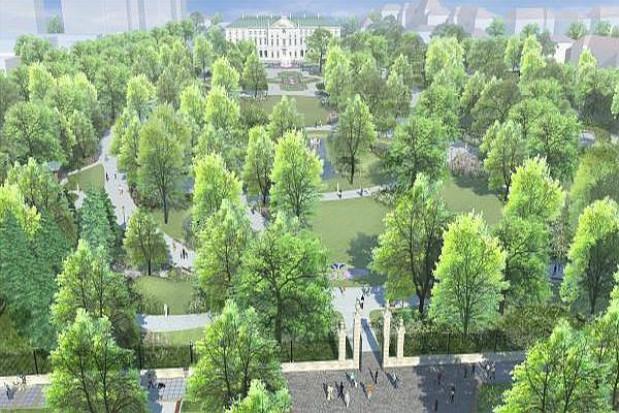 W Ogrodzie Krasińskich będzie plac zabaw