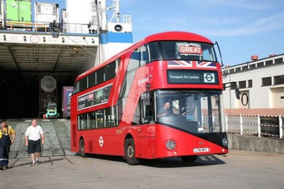 Wielka Brytania promuje się u nas autobusem