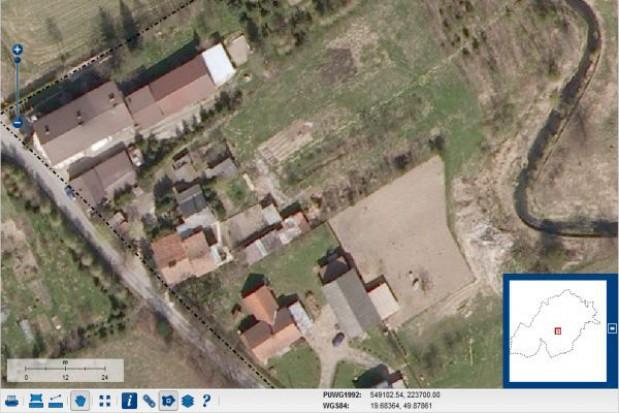 Gminny Portal Mapowy dostępny dla mieszkańców