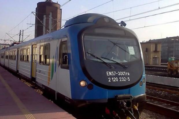 Pożar pociągu między Katowicami a Częstochową