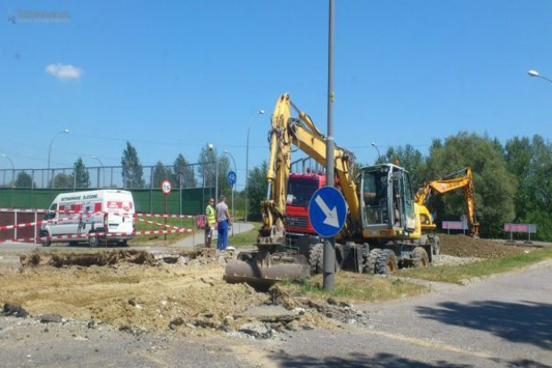 Ruszyła przebudowa ul. Westerplatte i Marynarki Wojennej w Tarnowie