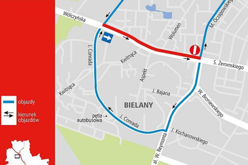 Ulica Wólczyńska w Warszawie się zmienia