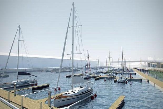 Kolejny etap budowy portu jachtowego