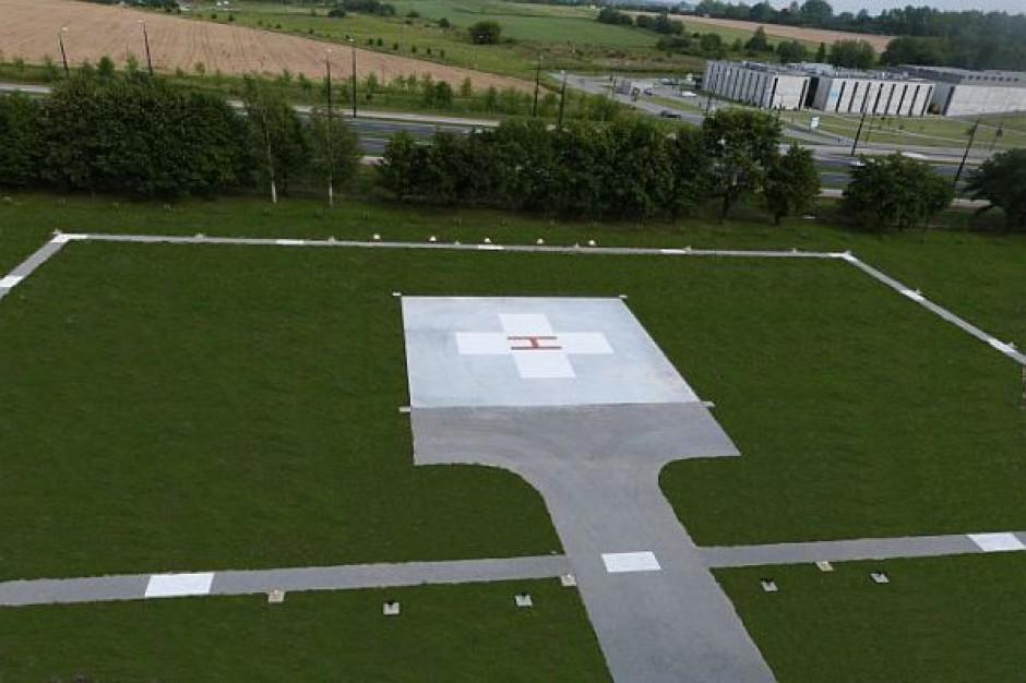 Nowe lądowisko w lubelskim szpitalu MSW