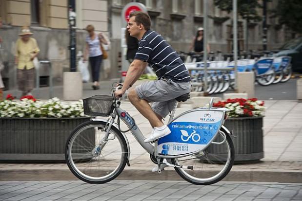 Pierwsza godzina gratis jazdy rowerem w Warszawie