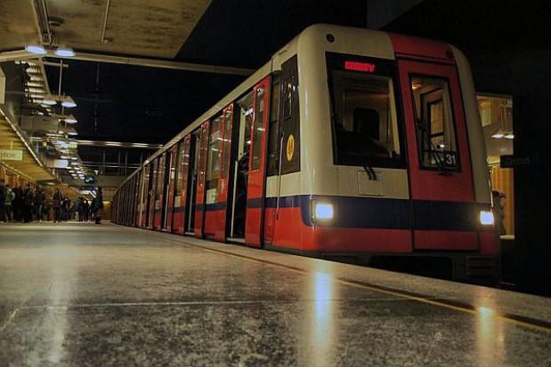 Jest przejście między I i II linią metra