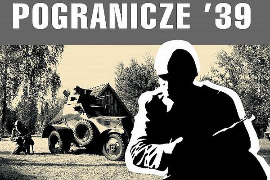 Inscenizacja wydarzenia z pierwszych dni po wybuchu II wojny światowej w Olsztynku