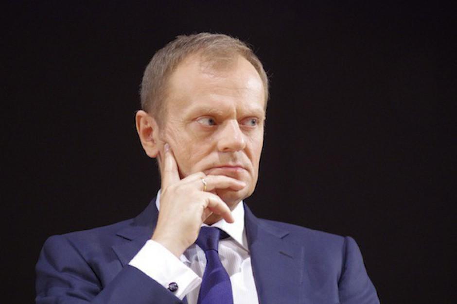 Donald Tusk: janosikowe do weryfikacji