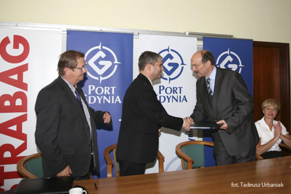 Ruszyła budowa nabrzeża bułgarskiego w Gdyni