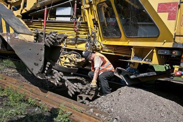 Remont wiaduktu kolejowego w Toruniu