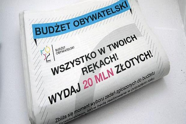 Łódź filmowo reklamuje budżet obywatelski