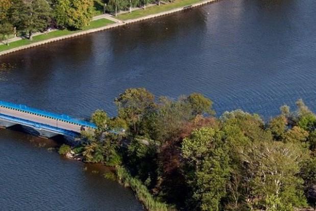 Wyspa na rzece Ełk na sprzedaż