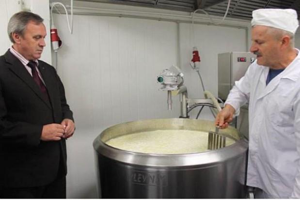 Otwarcie małej przetwórni mleka w Radomiu