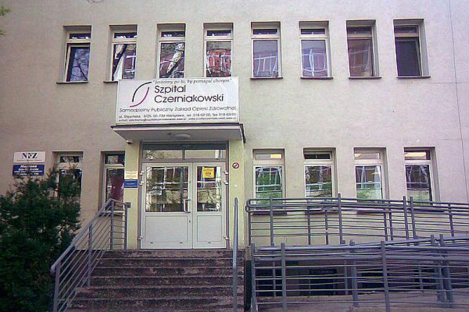Warszawa: decyzja o połączeniu szpitali musi poczekać