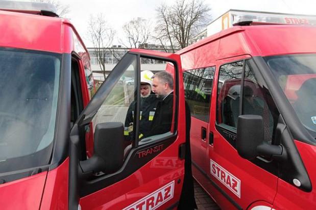 Inwestycje dla wielkopolskich strażaków