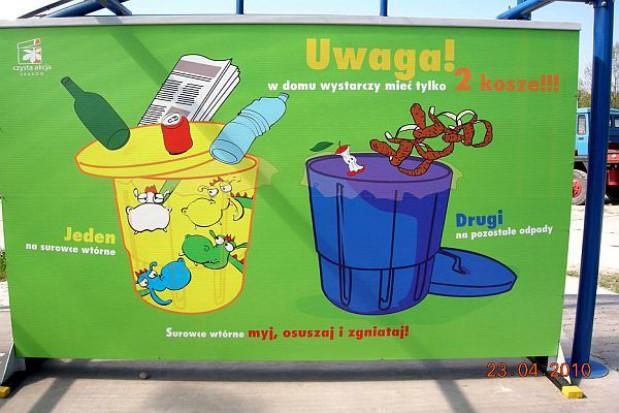 W Krakowie już są kary za śmieci