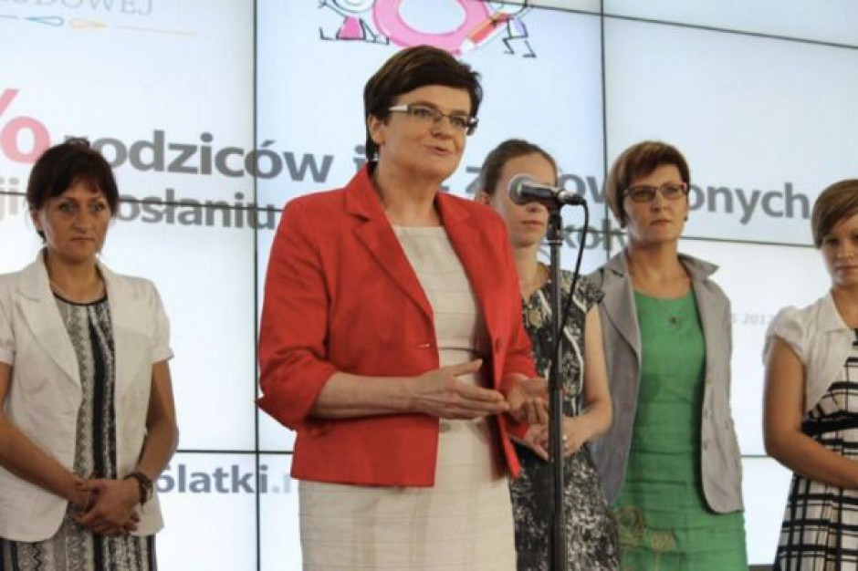 Minister apeluje: 6-latki mają mieć w szkole jak w przedszkolu...