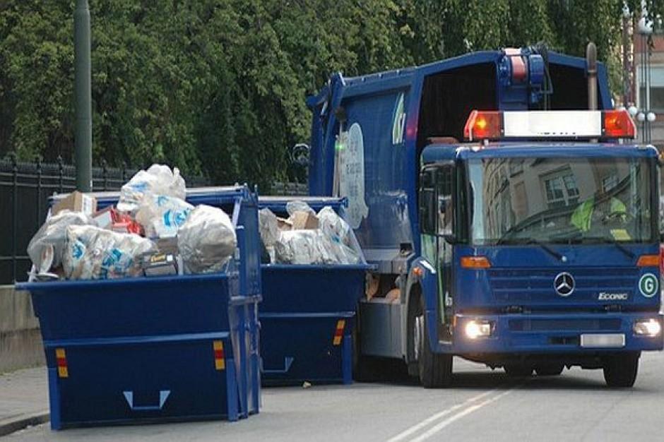 Śmieciarki zablokowały ulice Poznania