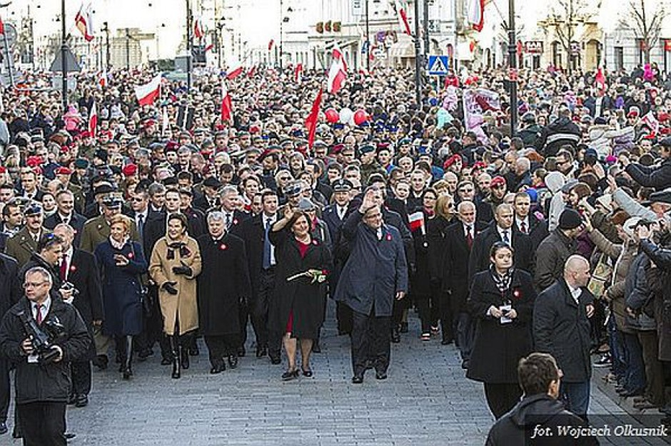 """Zakończył się marsz """"Razem dla Niepodległej"""""""