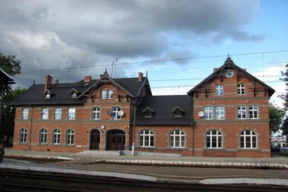 Kolejny dworzec po remoncie. We Wronkach