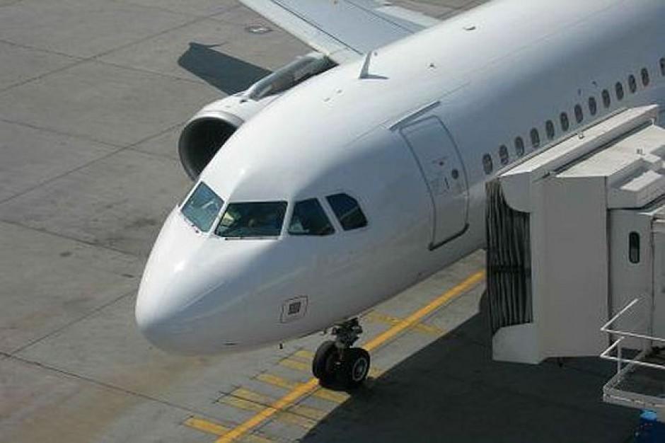 Lotnisko z nowoczesnym systemem kontroli