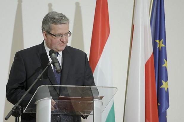 Bronisław Komorowski wizytuje południe woj. mazowieckiego