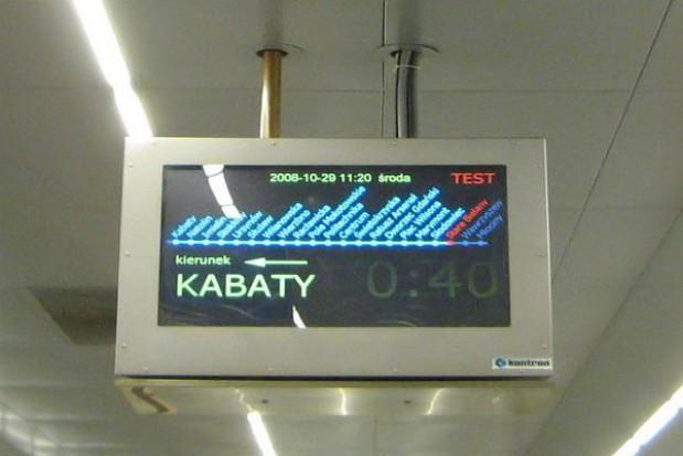 Stacje metra zamknięte dla pasażerów