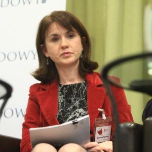 Katarzyna Paprocka - dyrektor, Departament Ochrony Wód, Narodowy Fundusz Ochrony Środowiska i Gospodarki Wodnej