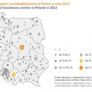 Ośrodki innowacji i przedsiębiorczości w Polsce