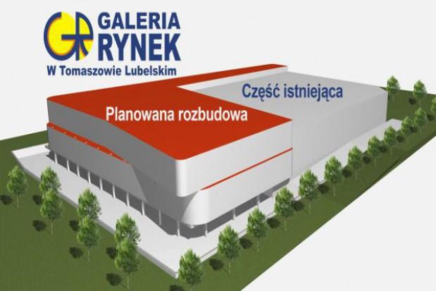 Tomaszów Lubelski zyska nowczesną galerię handlową
