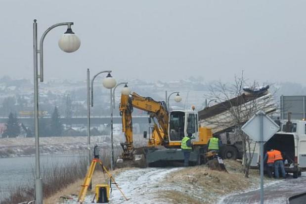 Ruszyły prace przy budowie nowego mostu w Żywcu