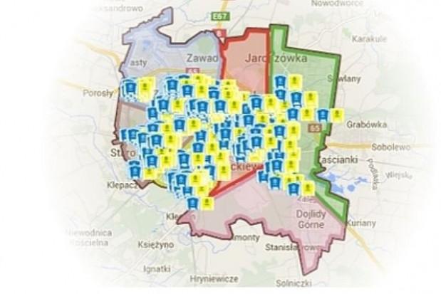 Gniazda do selektywnej zbiórki odpadów w Białymstoku ustawione