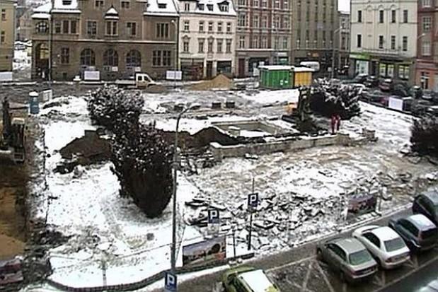 Zobacz przebudowę Placu Magistrackiego w Wałbrzychu
