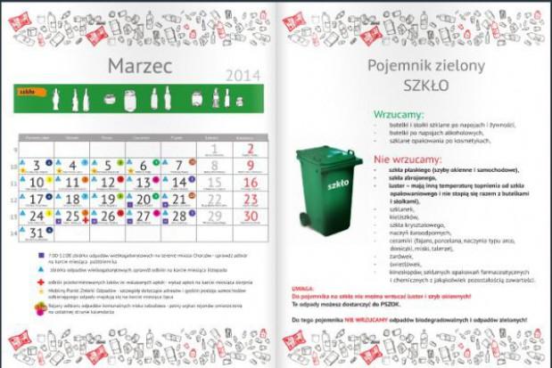 Śmieciowy kalendarz dla chorzowian