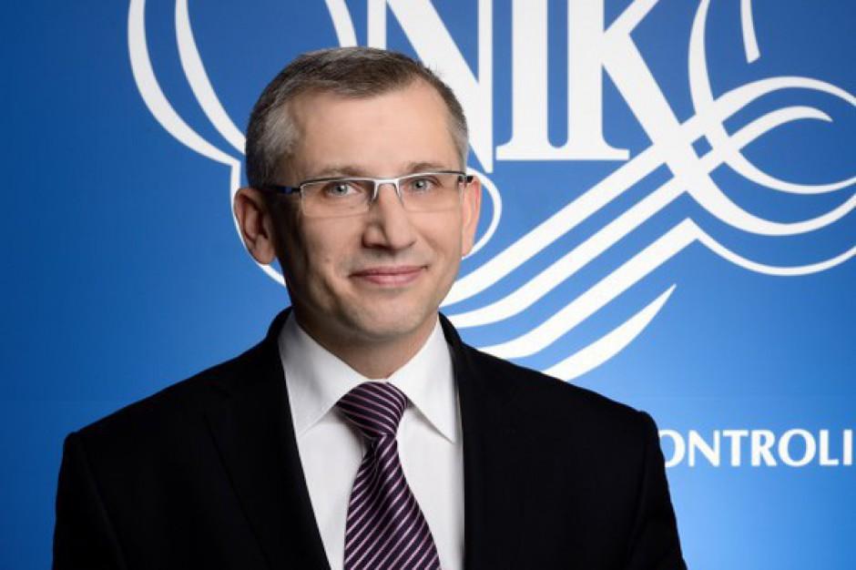 Prezes NIK: kontrolujemy i to, co jest szansą, i to, co zagrożeniem