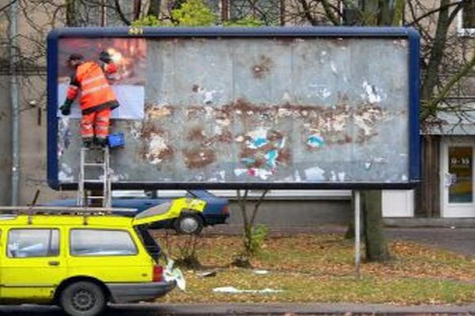 W roku wyborczym miasta zapanują nad plakatowym chaosem?