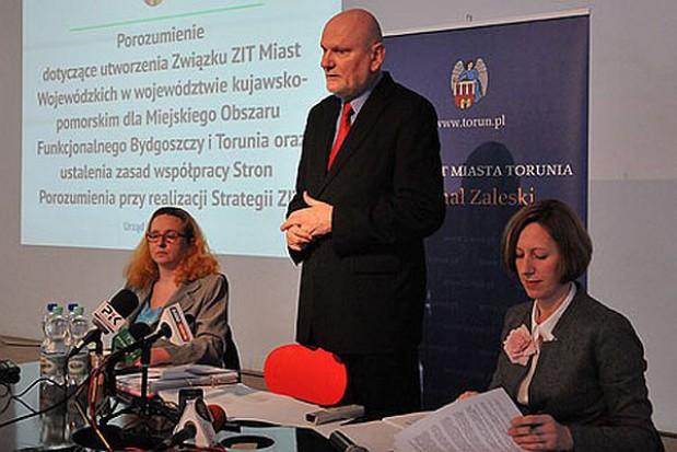 Prezydent Torunia ma nową propozycję dotyczącą ZIT