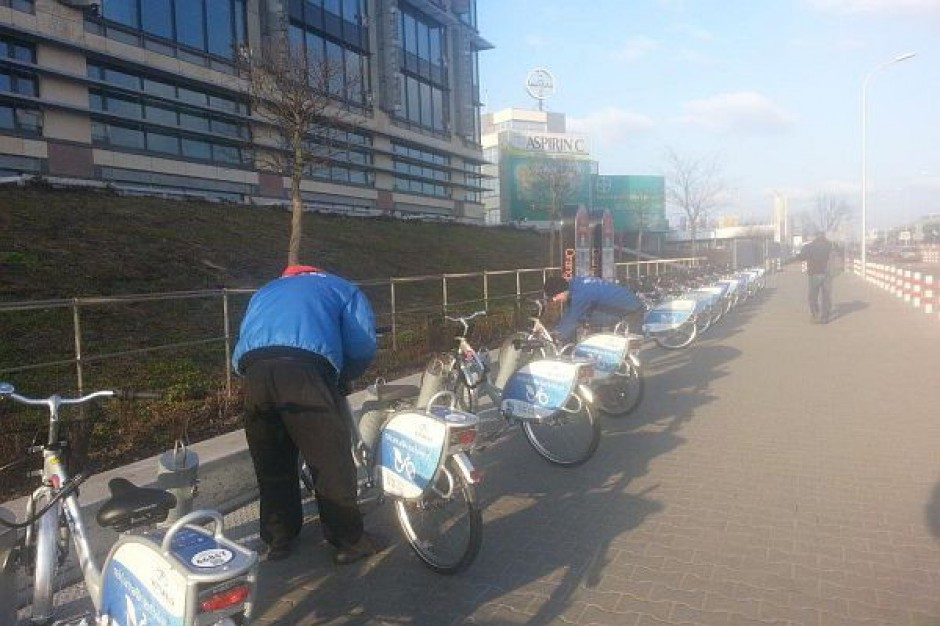 W Warszawie znów będzie można wypożyczać rowery