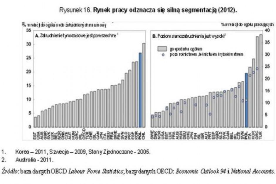 Dajcie etat i składki każdemu Polakowi - apeluje OECD