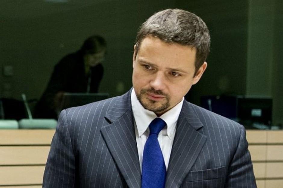 Dzięba składa zawiadomienie do prokuratury; zarzuca Trzaskowskiemu przyjęcie 150 tys. zł