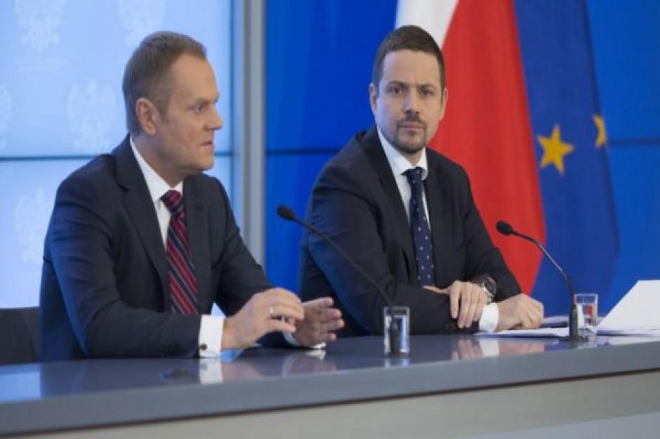 Minister Trzaskowski o sieciach szerokopasmowych