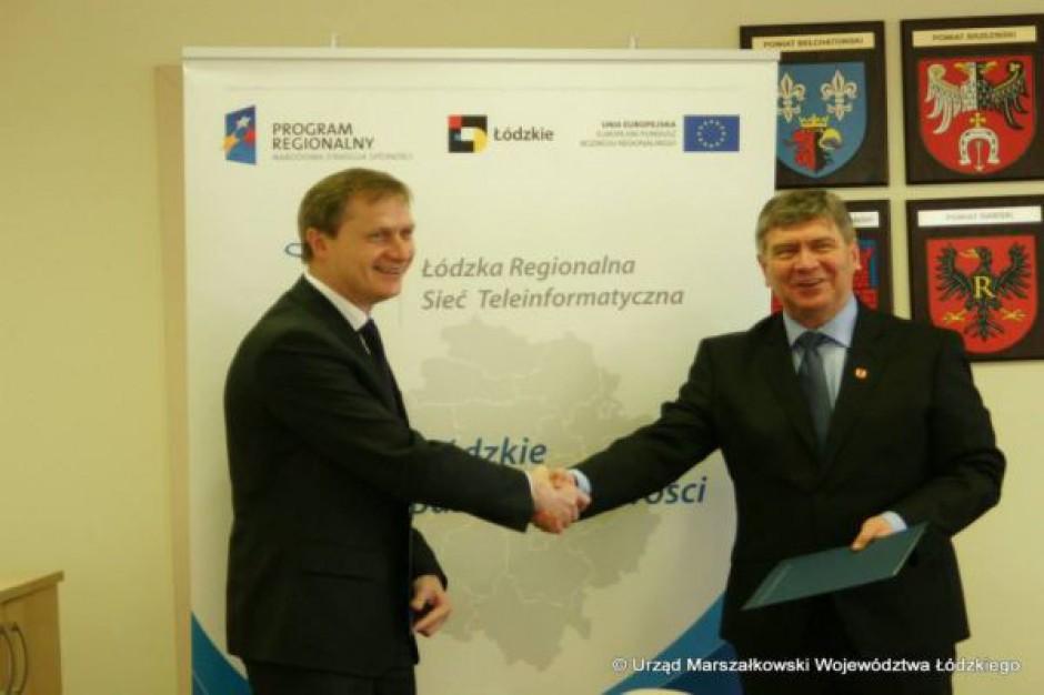 Województwo Łódzkie i Sieradz łączą siły w sprawie sieci szerokopasmowej
